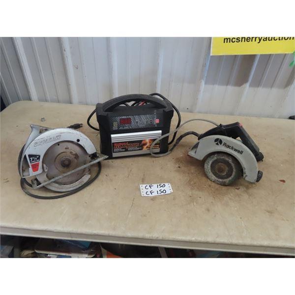 Eleminator Booster & 2 Circ Saws