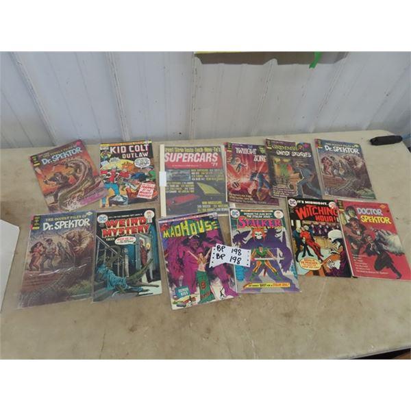 25 Cent Comics, & Car Magazines