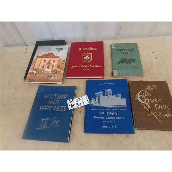 Local History Book, Harship & Happiness, (North , Ashern) Saint Claude History Book , Wpg 100  Plus