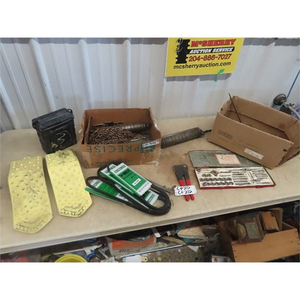 Grease Guns, Auto Traction, Tap & Die, Files, Chain Plus