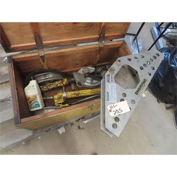 Enerpac Hyd Pipe Bender w Case