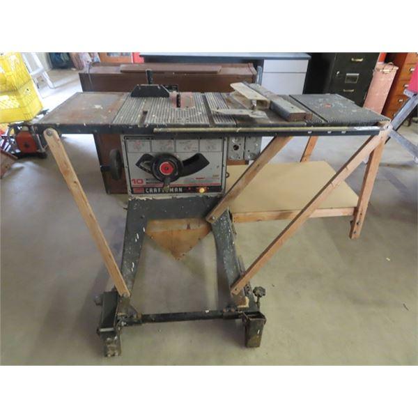 "Craftsman 10"" Table Saw"
