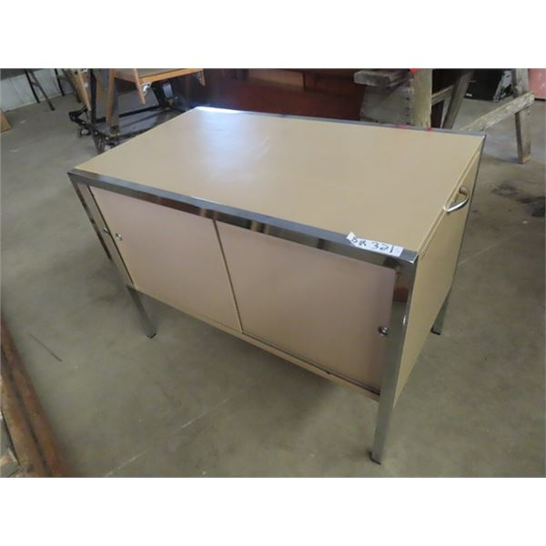 """Metal Office Cordenza 27""""H 36""""W 20""""D, Room Divider & 2 Office Chair Mats"""