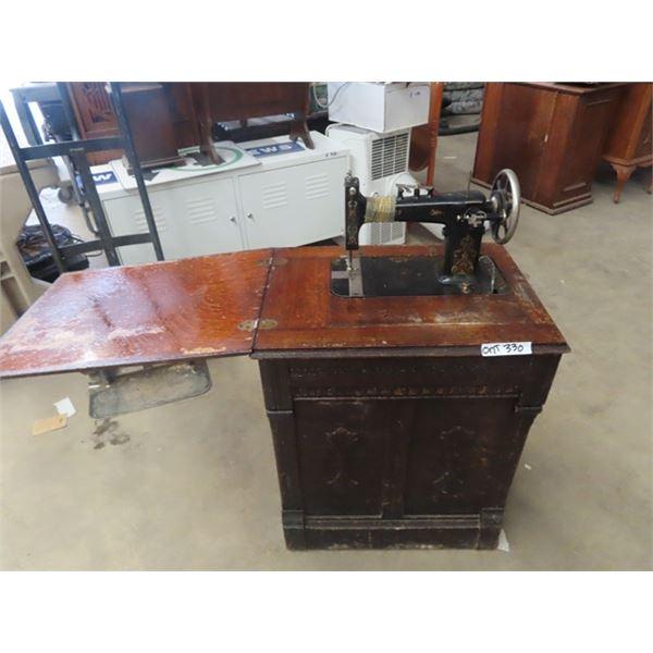 Cabinet Treadle Sewing Machine