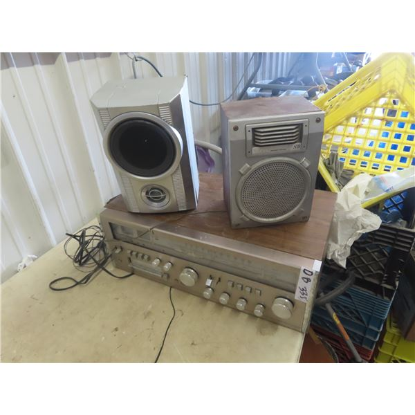 Llyods Stereo Receiver & Humidifier