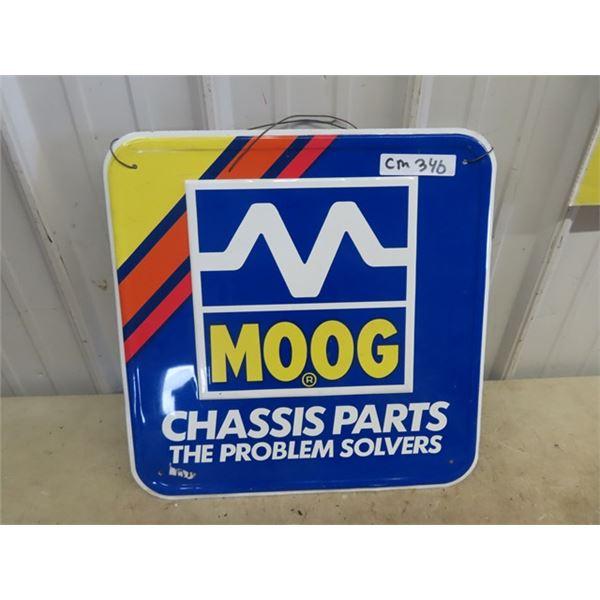 """Moog Chassis Metal Sign 18"""" x 18"""""""