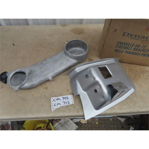 58 Corvette Fuel Injector Intake, 68,69, 70 Front Body Mount
