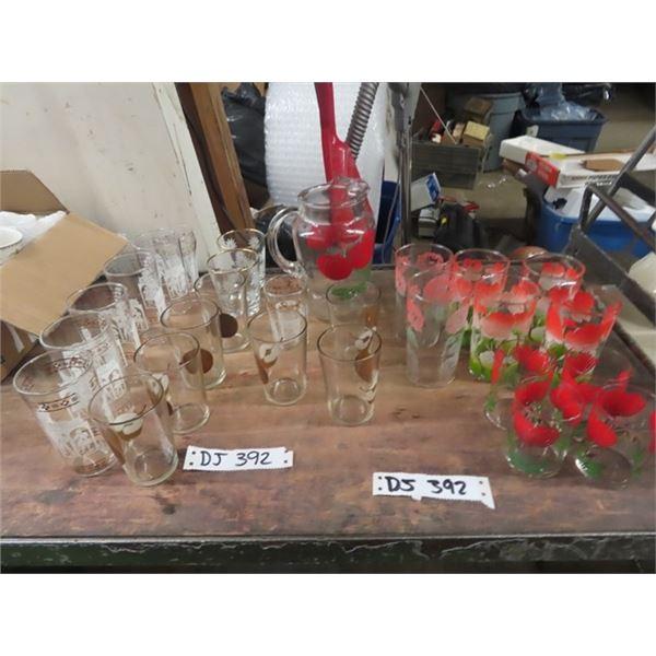 Glassware, Pitcher Plus More