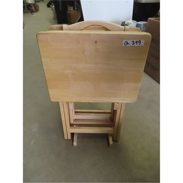 4 Wooden TV Tables