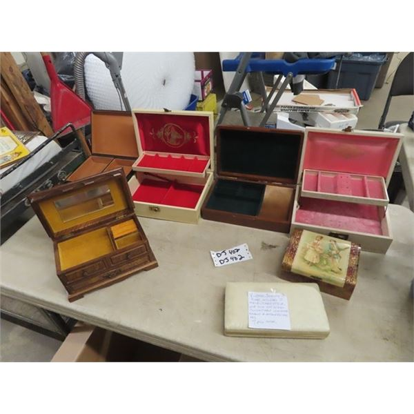 Jewellery Boxes- Vintage