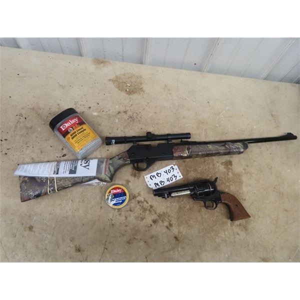 (MB) Daisy 2840 BB or Pellet Gun , Crosman Peace Maker 44