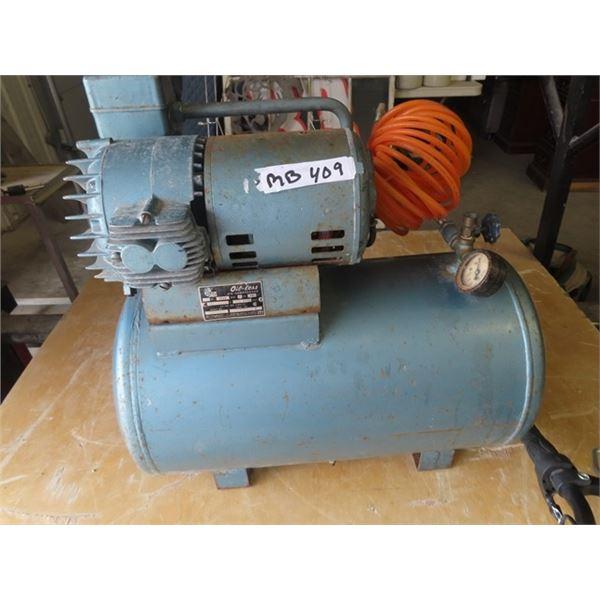 (MB) 1/4 HP Oil-Less Air Comp