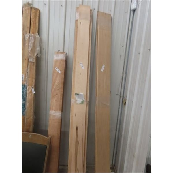 Special Wood -  1) 4 Clear Cherry Linch Boards 6' x 6'  Just Over 12 Board Ft  & 1) 2 M aple Boards
