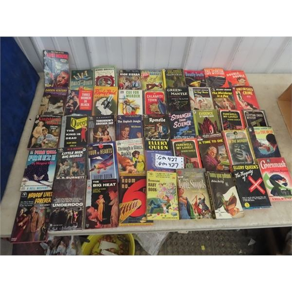 Approx 36 Mystery Pocket Books