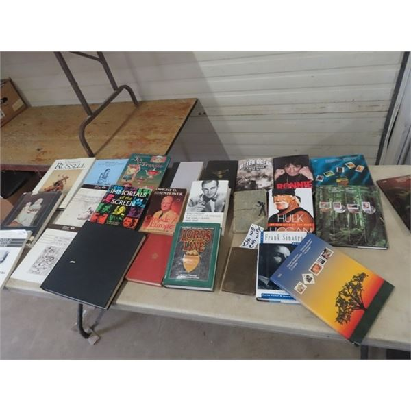 Antique & Stamp Reference Books, Various Books