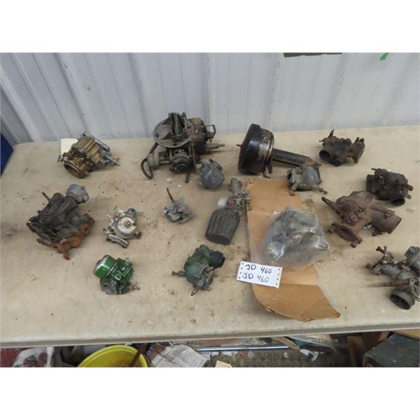 Carbureators, Auto & Tractor