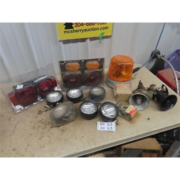 Trailer Light Kits, Sealed Beams Lights, Beacon Lights Plus