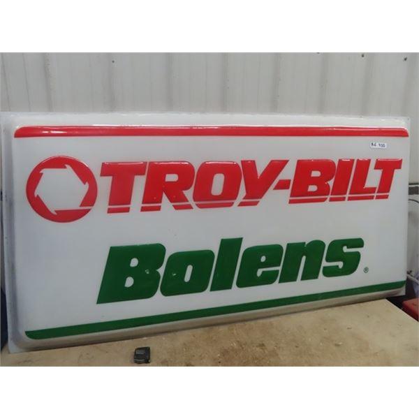"""(RE) Troybilt/ Bolens Plastic Lens Sign 36"""" x 72"""""""