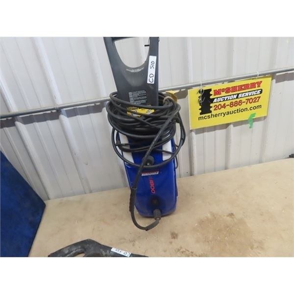 (CD) SImoniz 1800 Elec Pressure Washer