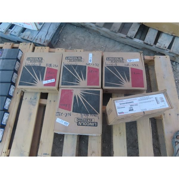 (SD) 5 Boxes Sealed Welding - Self Shielded Cored Wire- Innershield NR-232