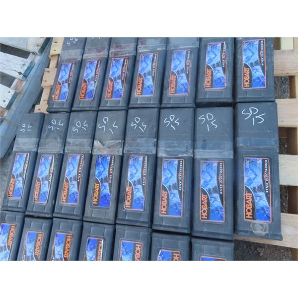 (SD) 8 Boxes Hub Welding Rods E7018