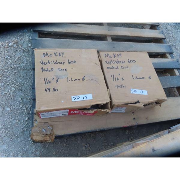(SD) 2 Boxes Welding Sealed McKay Verti Wear 600
