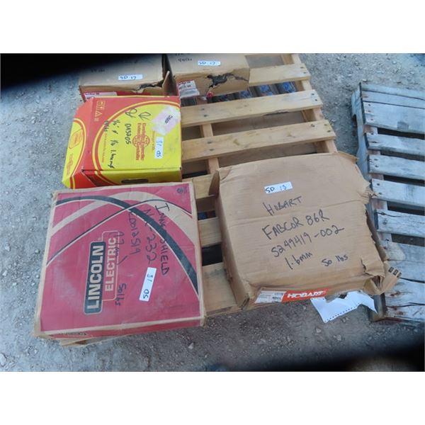 3 Mixed Boxes Welding 1) Castolin OA3205 1) Innershield NR232 & 1) Hobart Fab COR 80R