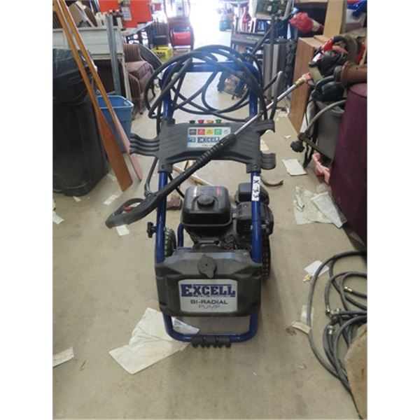 Excell Gas 179 cc Pressure Washer