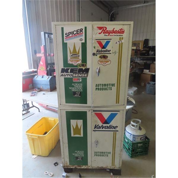 """Metal Ignition Garage Cabinet 72"""" x 32"""" x 11"""""""
