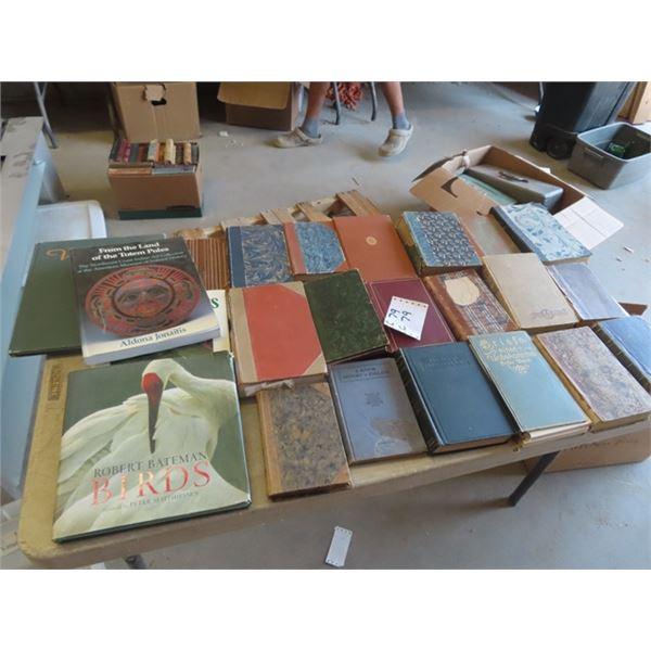 Old books, Robert Bateman Birds, Stories, Plus More Variety
