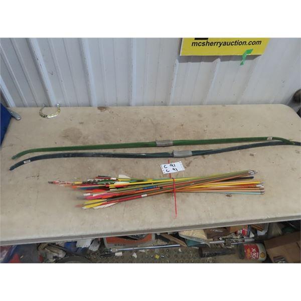 2 Bows & Bunch of Arrows