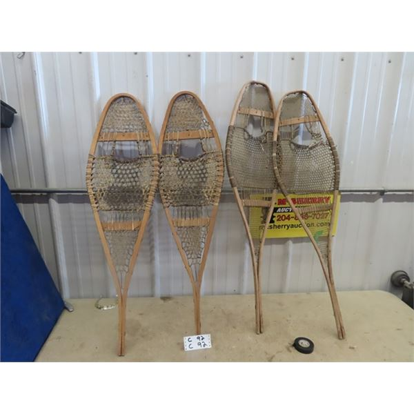 2 Sets of Snowshoes