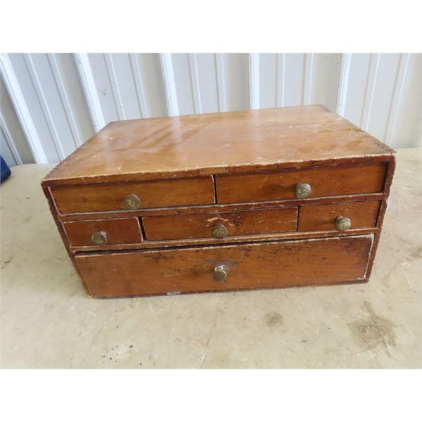 "Wooden Organizer 7.5"" H 16""W 11""D Plus Printers Tray"