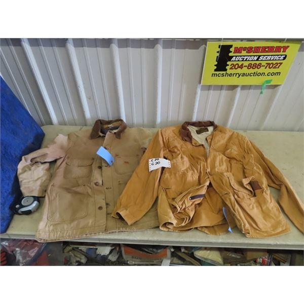 Big Ben Jacket Size 28, Caliber Sportsman Jacket XXL, 3 Hunting Pants, Size 30, 3 Vests - Medium, Se