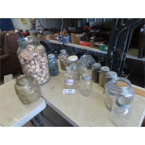 Sealers, Store Jars, Porc Lids, Wooden Spoons, Duck Bill Clothes Pegs Plus