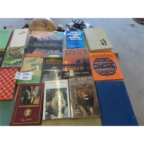 Hunting, FIshing , Gun & Wildlife Books