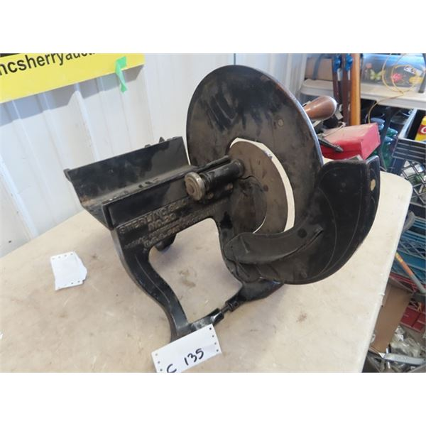 Old General Store Sterling Slicer Mdle #20 Meat Slicer, - Careful don't stand too close- Your New Ni