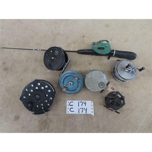 Angler 40, VCO Steelhead Spin Fly, Gemina, Colgrove Tackle, Windex, & 2 No Markings