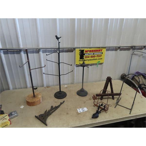 "Counter Store Racks, - One w Bird 29"" Tall"