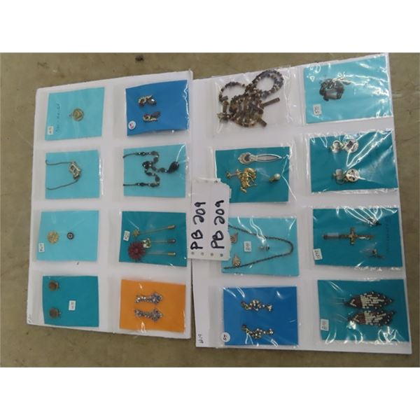 Approc 16 Sets/ Packages Jewellery - Necklace Earrings Plus More!