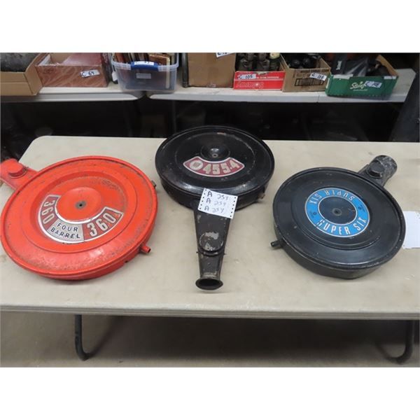 3 Air Breather Covers