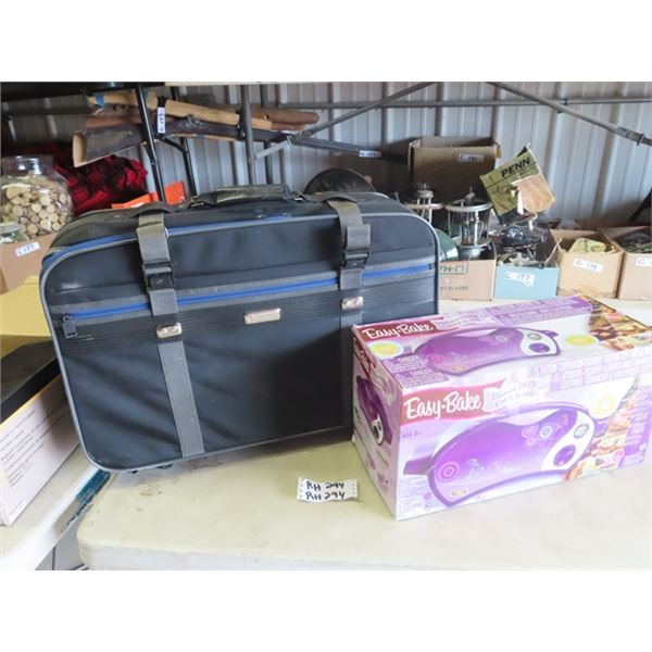 Easy Bake Child's Stove & Suitcase