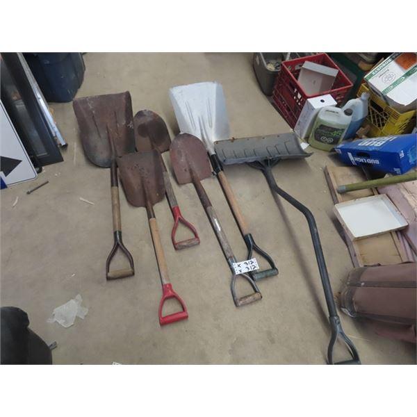 6 Shovels & Spades