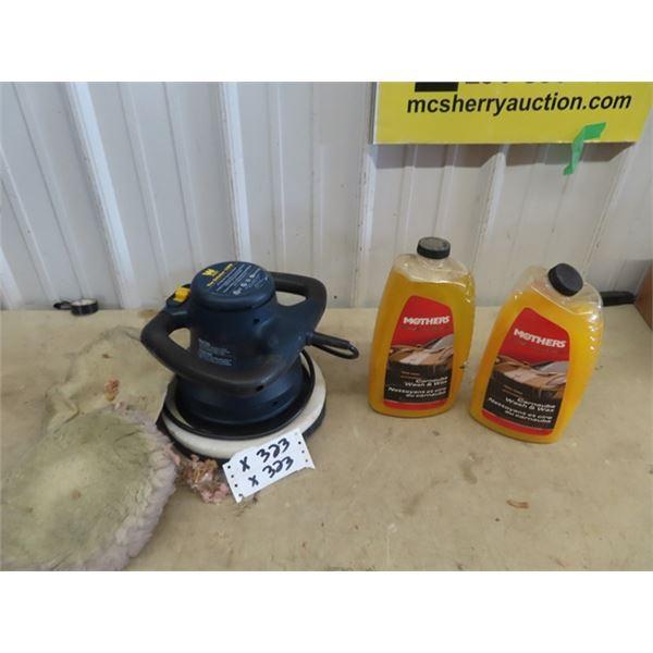 Power Auto Polisher, Wash & Wax, Auto Cleaner & Polish