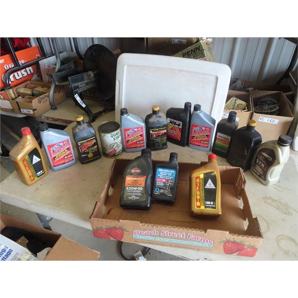 12 Litres Oil, Sythetic & Motorcycle Plus Others