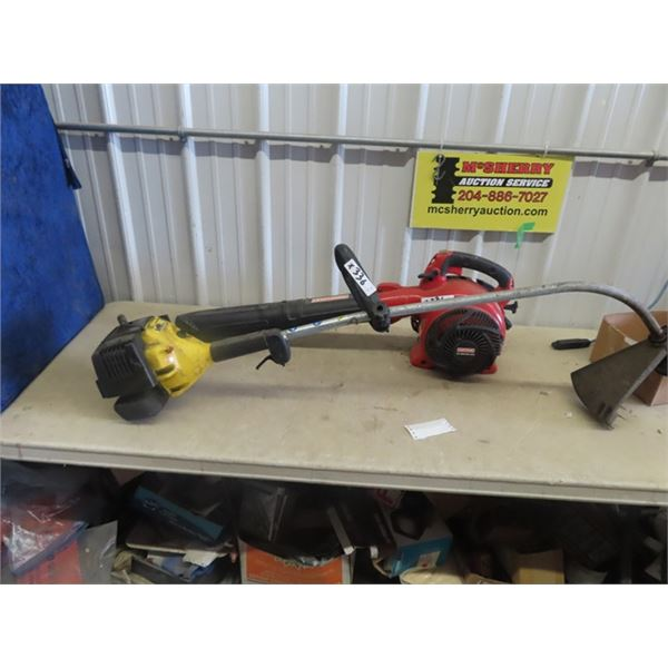 Craftsman Gas Yard Blower 210 MPH, Eager Beaver Gas Weed Eater