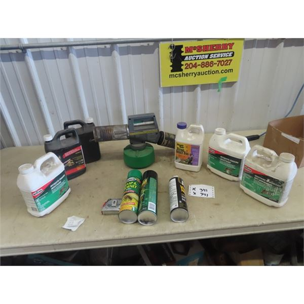 Yard Fogger & Insecticides