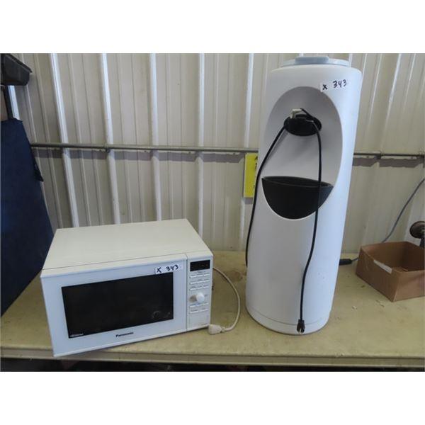 Panasonic Microwave & Kelvin Water Cooler
