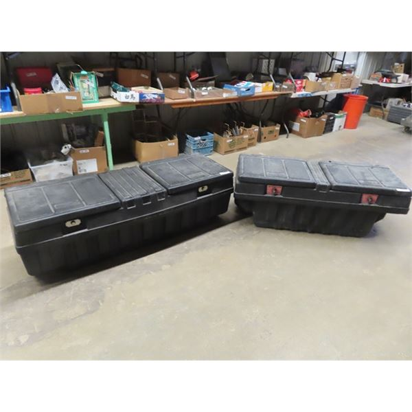 2 Poly Truck Tool Boxes