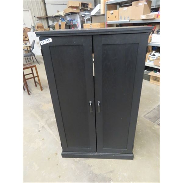 """2 Dr Computer Cabinet 52"""" x 32"""" x 19"""""""